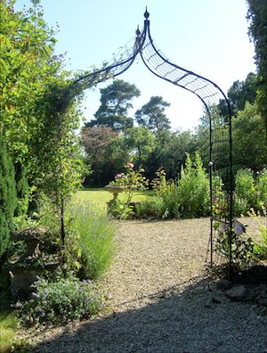 The gardens at the Old Rectory